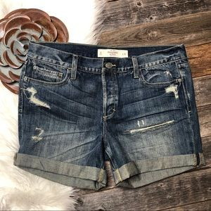 ABERCROMBIE & FITCH Shorts 29 Rolled Cuff Jean